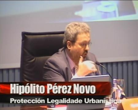 Hipólito Pérez Novo, director da Axencia de Protección da Legalidade Urbanística - Seminario sobre a Discrecionalidade no Exercicio das Potestades de Planificación, Xestión e Disciplina Urbanística